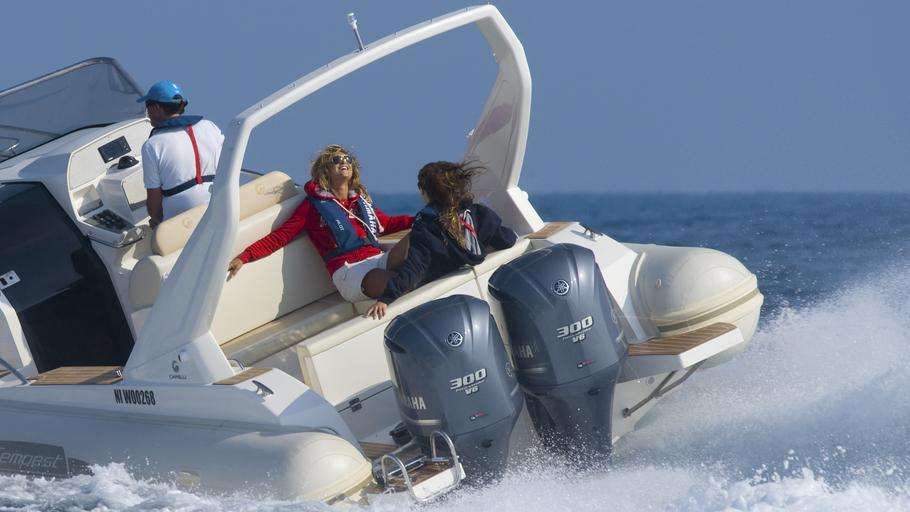 2 мотора на одну лодку